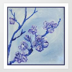 Snow Blossoms by Jennloop - Collect your choice of gallery quality Giclée, or fine art prints custom trimmed by hand in a variety of sizes with a white border for framing. Blossoms, Moose Art, Fine Art Prints, Snow, Gallery, Frame, Animals, Picture Frame, Flowers