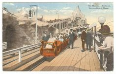 The Midway Postcard Gallery Vol 10 The Roller Coasters of Revere Beach, MA » Gaping Media Hole Blog