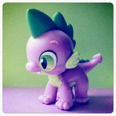 by bayleesaurus — #toys #MLP #My #Little #Pony #Spike #cute #Instagram #Hasbro
