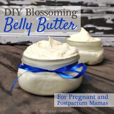For this belly butter recipe, I chose neroli, frankincense and lavender essential oils because they are safe during pregnancy and have a calming effect on the skin.