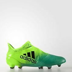 Adidas X Purechaos Firm Ground Cleats (Solar Green / Core Black)