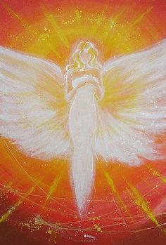 Limited angel art photo digital print abstract por HenriettesART