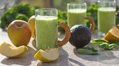 How to do a sugar cleanse and a tropical green smoothie recipe the whole family will love For more smoothie information, click the link. Veggie Smoothies, Healthy Breakfast Smoothies, Green Smoothie Recipes, Healthy Snacks, Eating Healthy, Milk Smoothies, Kid Snacks, Healthy Detox, Health Breakfast