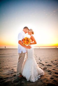 So many...great photo opps at a beach wedding, be sure to plan to tie down items that can blow away