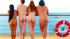 En 2010 hubo 30 mil pasajeros en los cruceros nudistas.