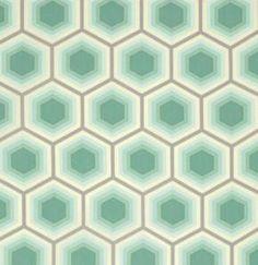 Free Spirit - Bumble - Tula Pink - Honeycomb (Jade)