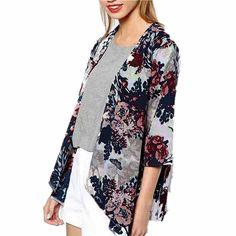 S 6xl Plus Size 2016 Summer femmes Shirt Kimono Boho Cardigan Vintage imprimé Floral Blouse ample châle dame bohème manteau veste dans Chemises et Chemisiers de Accessoires et vêtements pour femmes sur AliExpress.com | Alibaba Group