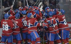 Montreal's Andrei Markov continues torrid start to NHL season with third game-winning goal. Hot Hockey Players, Hockey Teams, Usa Hockey, Hockey Mom, Montreal Canadiens, Montreal Hockey, Nhl Season, Hockey Quotes, Soccer Pictures