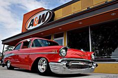 A&W and a 57 Chevy!