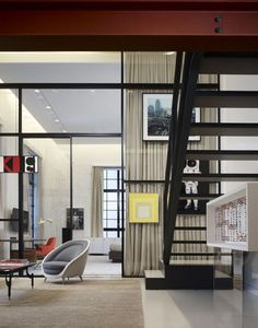 Chicago Loft By Studio Gang And Bertrand Benoit 03 Ideas Home House