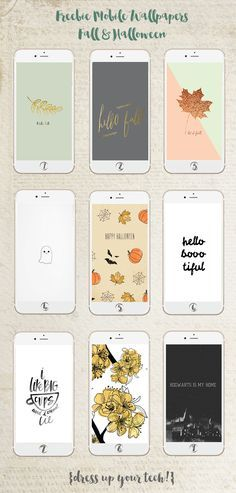 * magnoliaelectric: Freebie Mobile Wallpapers Collection {Fall & Halloween}