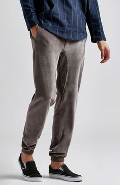 Boxing Day Velour Jogger Pants