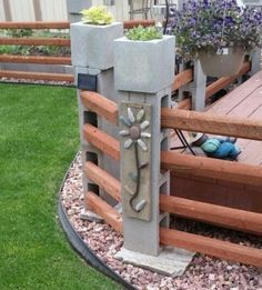 Man, there are about a million things that you can do with cinder blocks!