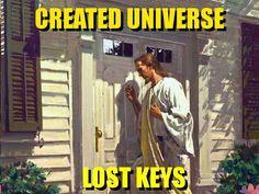 Created Universe, Lost Keys