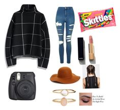 """""""Untitled #207"""" by zaicute on Polyvore featuring beauty, Chicwish, Topshop, Phase 3, Accessorize and Chanel"""