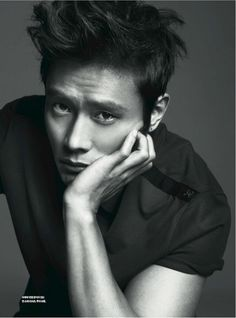 Lee Byung Hun in GQ magazine