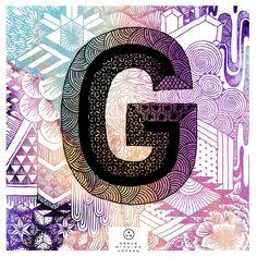 Grace Hamann x ATC Artist Series 1  Letter G inspired by Finkl http://avondaletypeco.tumblr.com/ http://grace-hamann.squarespace.com