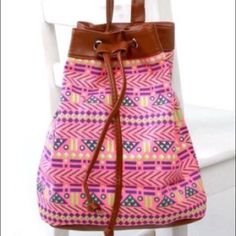Spring/Summer Bucket Tote Bag The classic tote bag never gets old! This spacious bag works for everything & everyone!  Fashionable & trendy with its own unique print.    Suggested user  Fast shipper  Smoke free dog friendly home Price firm unless bundled   No PayPal, lowest, or model inquiries plz  ❔'s...just ask  Boutique Bags Totes