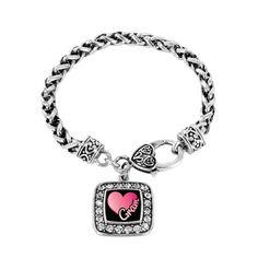 Gram Classic Braided Charm Bracelet http://www.inspiredsilver.com/ #gram #charmbracelet #Jewelry
