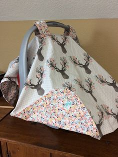 Car Seat Canopy Car Seat Cover Crib Bedding by CountryChicBaby