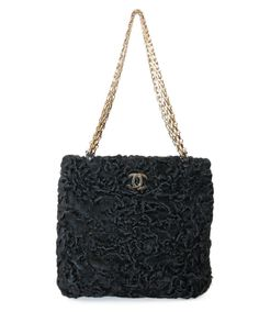926d638ee093 Chanel Black Persian Lamb Handbag Lamb Handbags, Chanel Black, Chanel  Fashion, Persian,