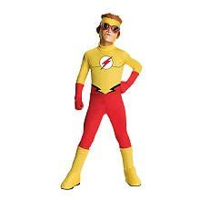 Young Justice Kid Flash Costume Size: Large