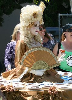 Marie Antoinette Strolling Table - Strolling Tables by San Diego Spotlight Entertainment
