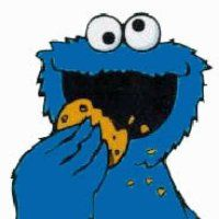 cookie monster coloring pages   free coloring pages for kids   art ... - Cookie Monster Face Coloring Page