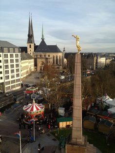 """""""The golden lady"""" Luxembourg"""