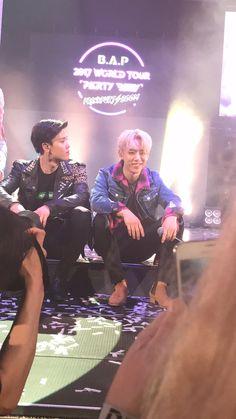 Zelo and Daehyun - BAP 2017 tour