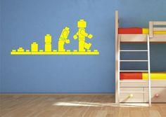 Lego Evolution wall art sticker decal Lego Evo Sticker