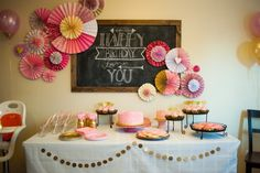 love this table set up!:Notes From Nessa