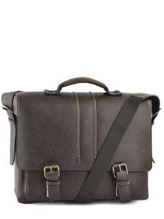 Briefcase Leather Ruitertassen Brown adults soft 4003