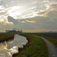 Oldenzijl (old lock), Ommelanden, Groningen (NL)