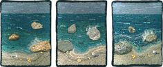 children theme for rug hooking patterns | ThreeWaves600px Using Embellishments in Rug Hooking