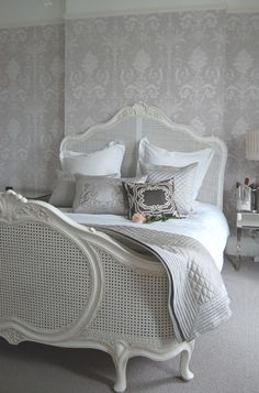 "I have this wallpaper, ""Josette"". A timeless classic from Laura Ashley"