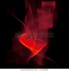 Abstract fractal background with red waves, 3D illustration at my Shutterstock portfolio  #fractal #redblack #fractalart #abstract #background #light #neon #shutterstock #shutterstockcontributor #waves