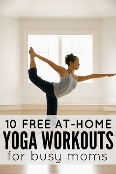 A collection of 10 free 5 minute yoga workouts. It seems like some good basic workouts that I will be trying later.