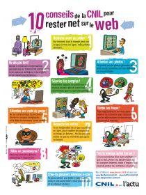 Librairie-Interactive - 10 conseils pour rester net sur le Web