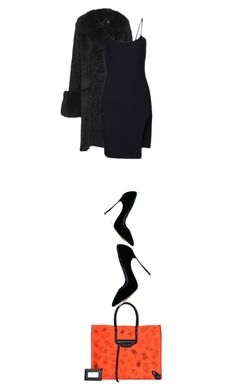"""Dahlia"" by nino-d-f on Polyvore featuring Balenciaga, Casadei, Prabal Gurung, women's clothing, women, female, woman, misses and juniors"