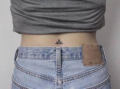 Girl Back Tattoos, Back Tattoos For Guys, Back Tattoo Women, Lower Back Tattoos, Tattoos For Women, Mini Tattoos, Body Art Tattoos, Small Tattoos, Belly Tattoos