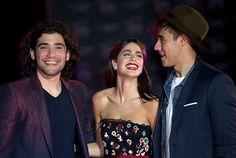 #TinielgranCambiodeVioletta 💜Tini , Jorge and Adrian💜