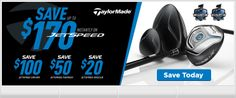 Save up to $170 on Jetspeed Drivers, Fairway Woods, and Rescues. Save today!  http://www.golfdiscount.com/promotion/taylormade_jetspeed_promotion
