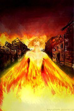Like a Phoenix by Nikadonna
