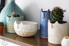 Oravanpesä | Cat pot design Atelier Stella
