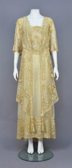Dress, cotton, ca. 1910