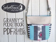 Granny's Pocketook PDF Sewing Pattern
