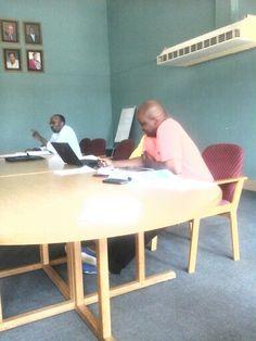 Sipho Bongwe and Lungisizwe Mkgwanazi
