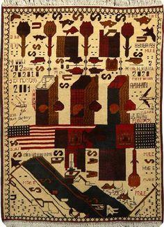 Afghan War Rugs #textiles