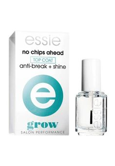 Essie No Chips Ahead  - 7 non-chip nail polish top coats that work